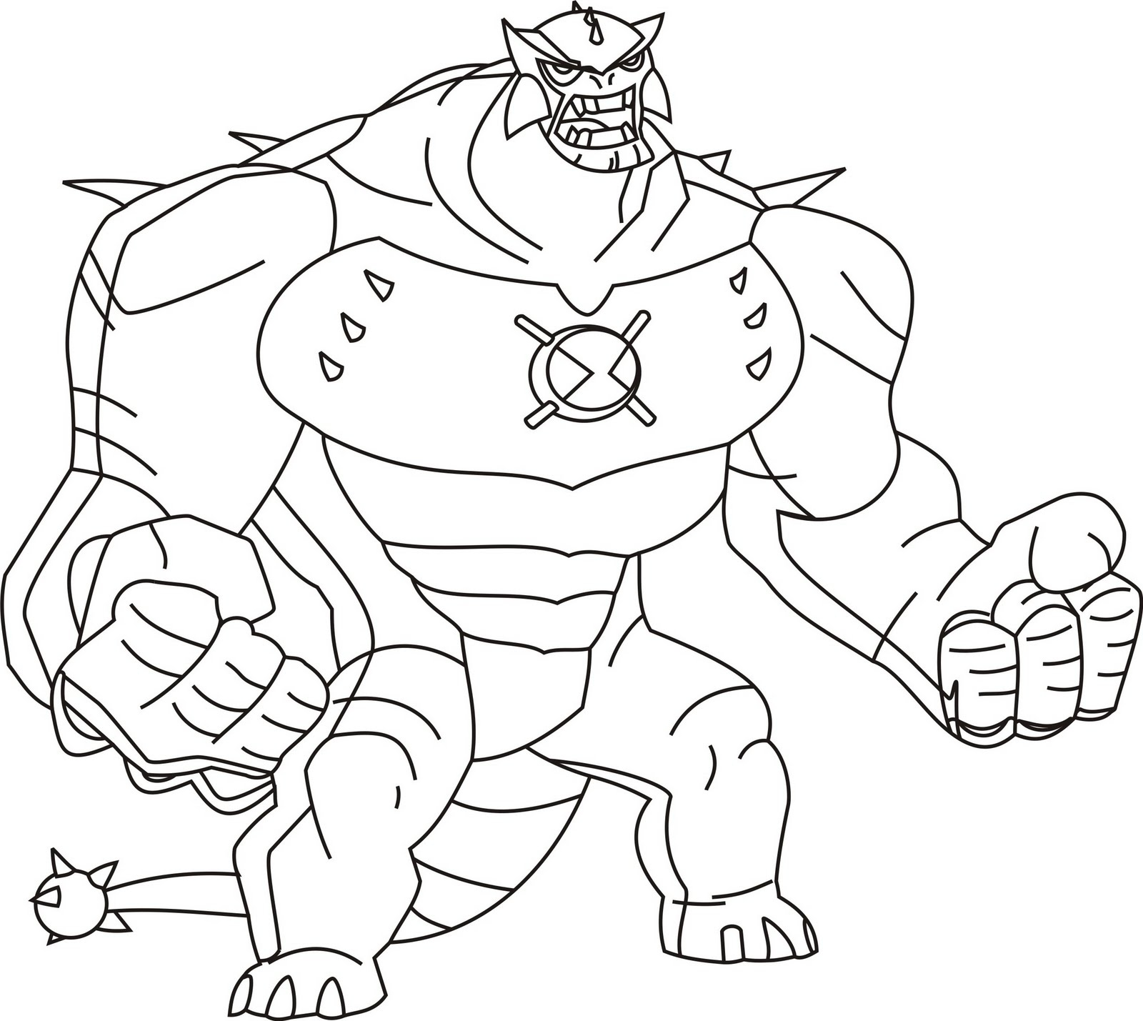 Ben Ten Coloring Pages - Free Printable Ben 10 Coloring Pages for Kids
