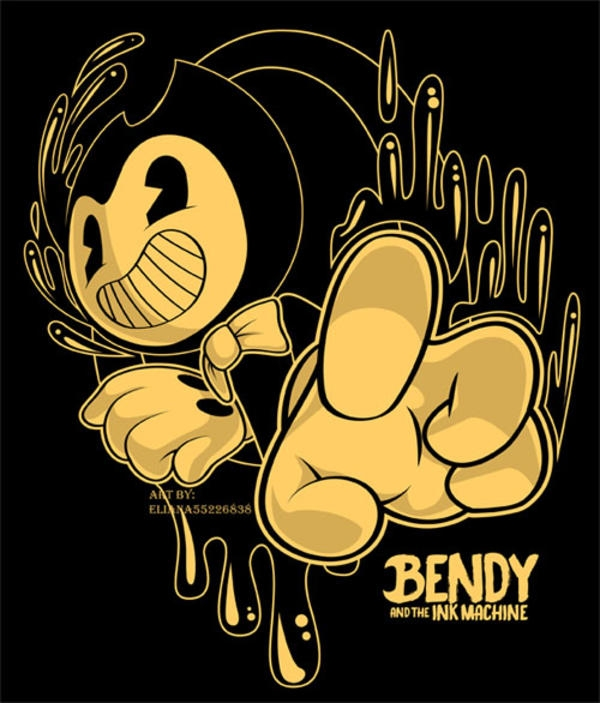 bendy and the ink machine coloring pages - bendy and the ink machine