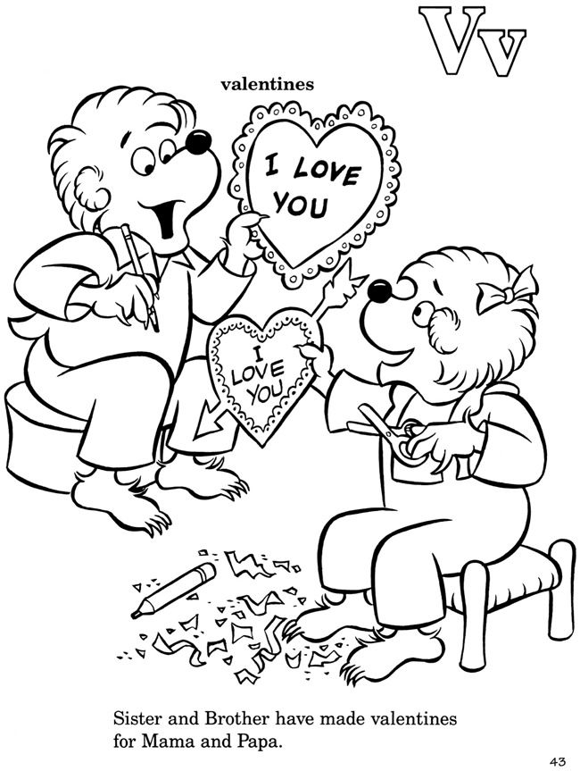 berenstain bears coloring pages - berenstain bears coloring page