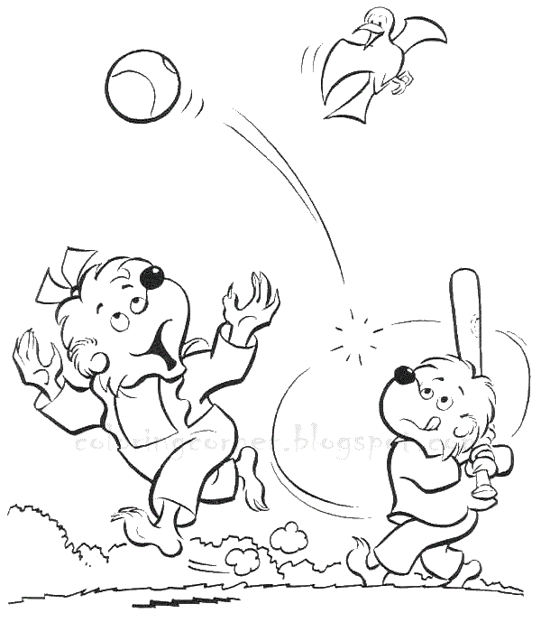 berenstain bears coloring pages - berenstain bears coloring pages