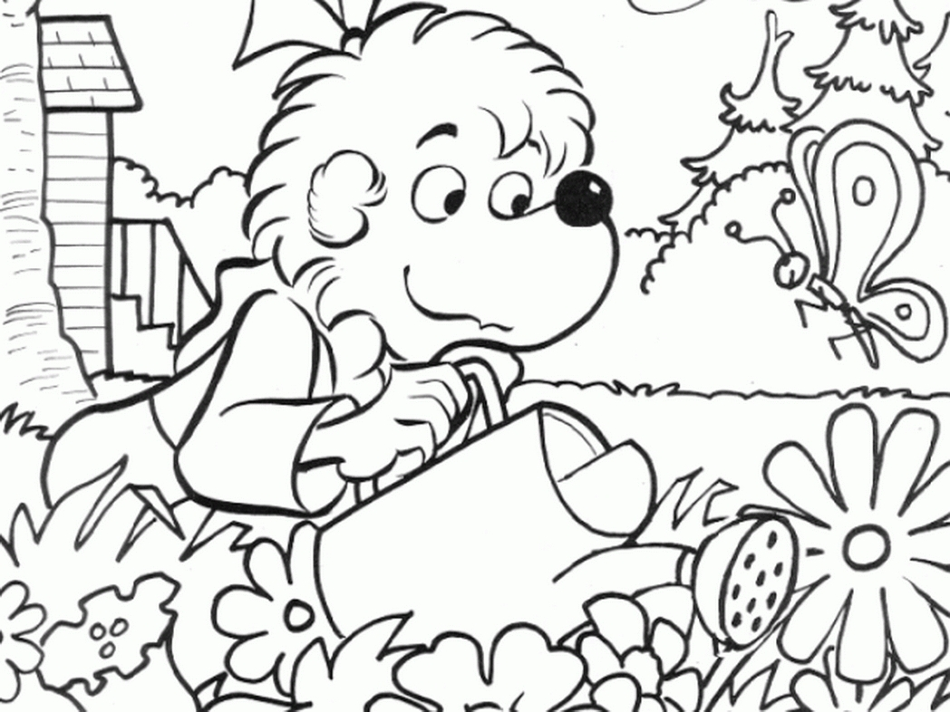 berenstain bears coloring pages - berenstain bears coloring pages printable for