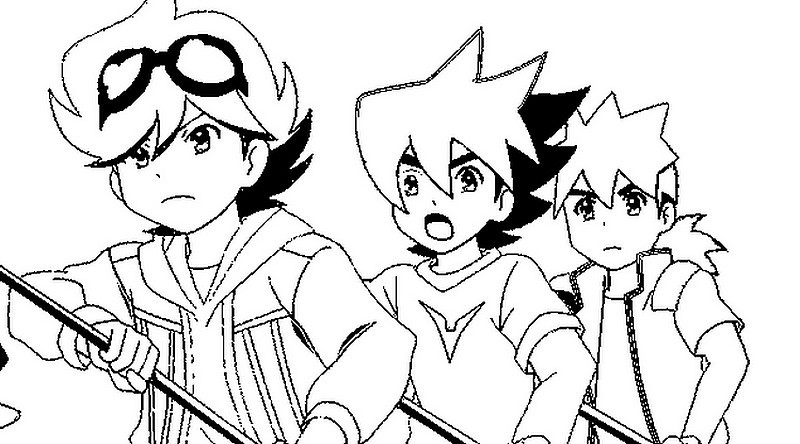 beyblade coloring pages - &image=coloriage tenkai g 7