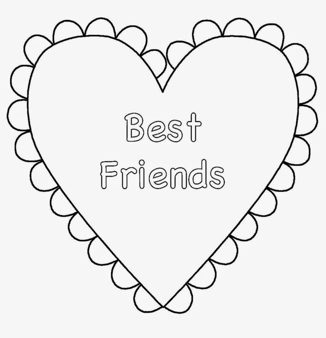 bff coloring pages - 3 bff coloring pages sketch templates