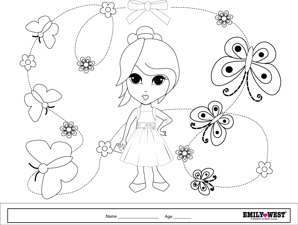 bff coloring pages - bff