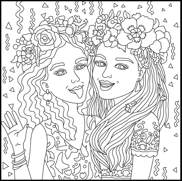 Bff Coloring Pages - Hard Coloring Pages with Bff Coloring Pages