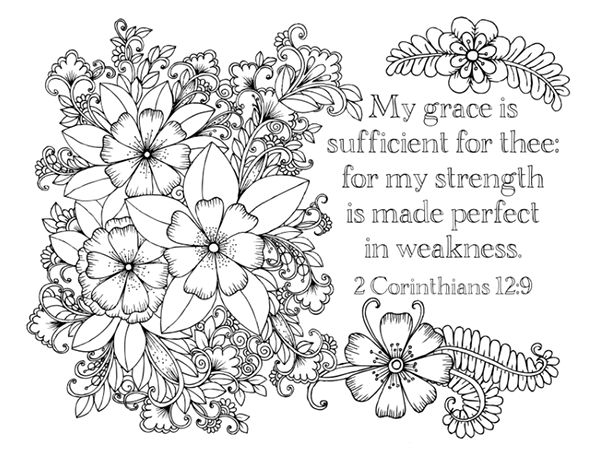 bible coloring pages for adults - adult scripture coloring pages