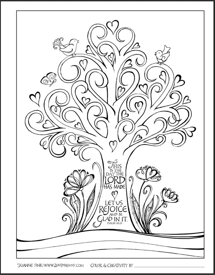 bible coloring pages for adults - color the word