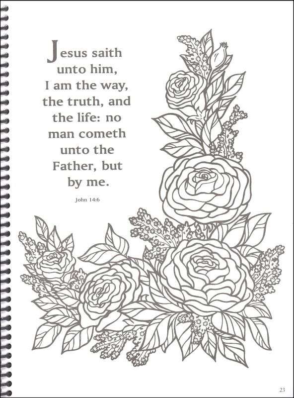 bible coloring pages for adults - q=bible quotes for adults