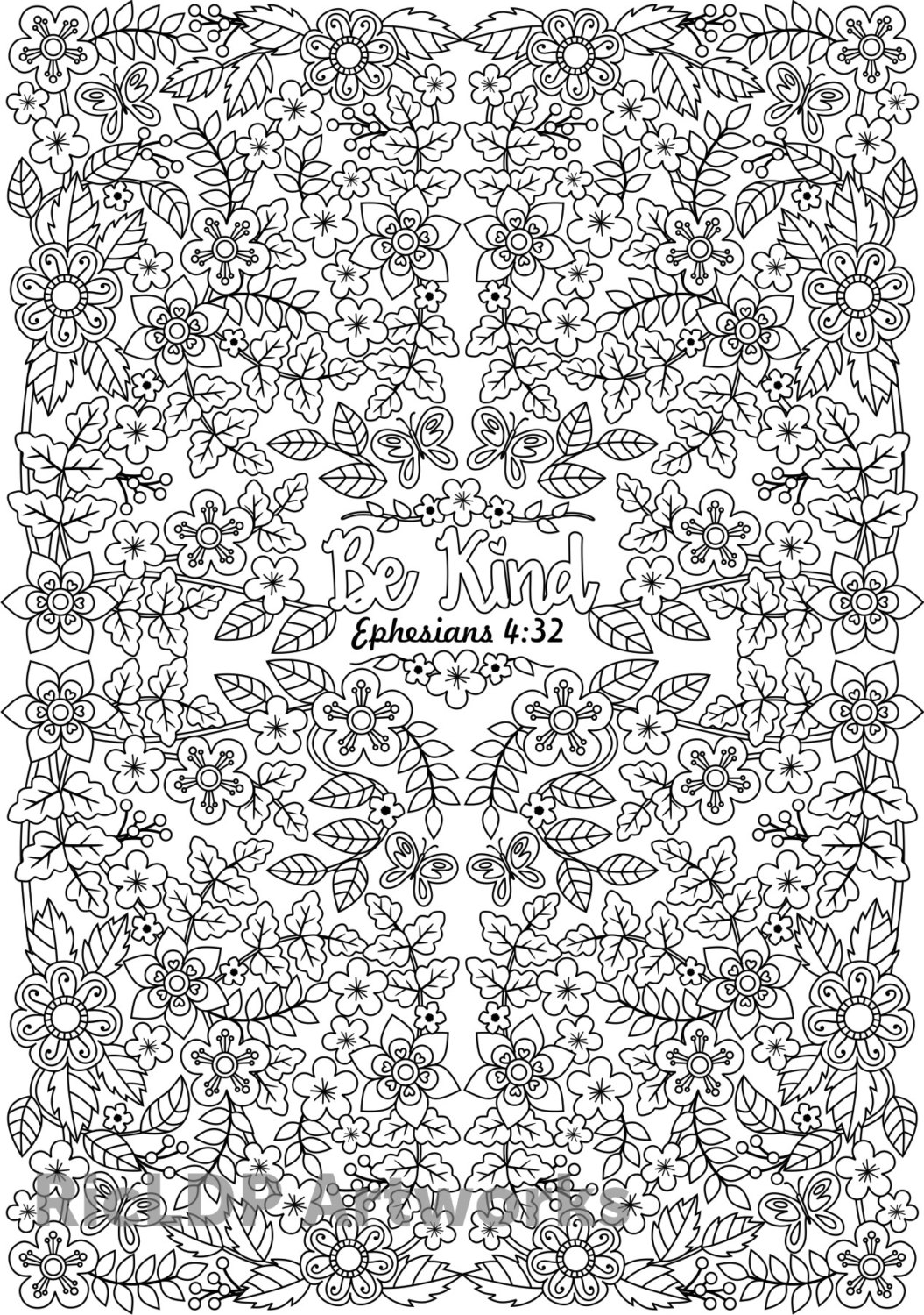 Bible Coloring Pages for Adults - Three Bible Verse Coloring Pages for Adults Printable