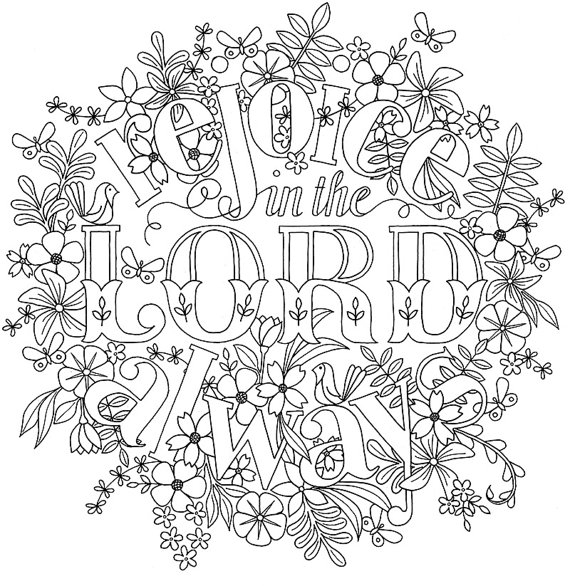 bible verse coloring pages for adults - adult colouring page bible verse