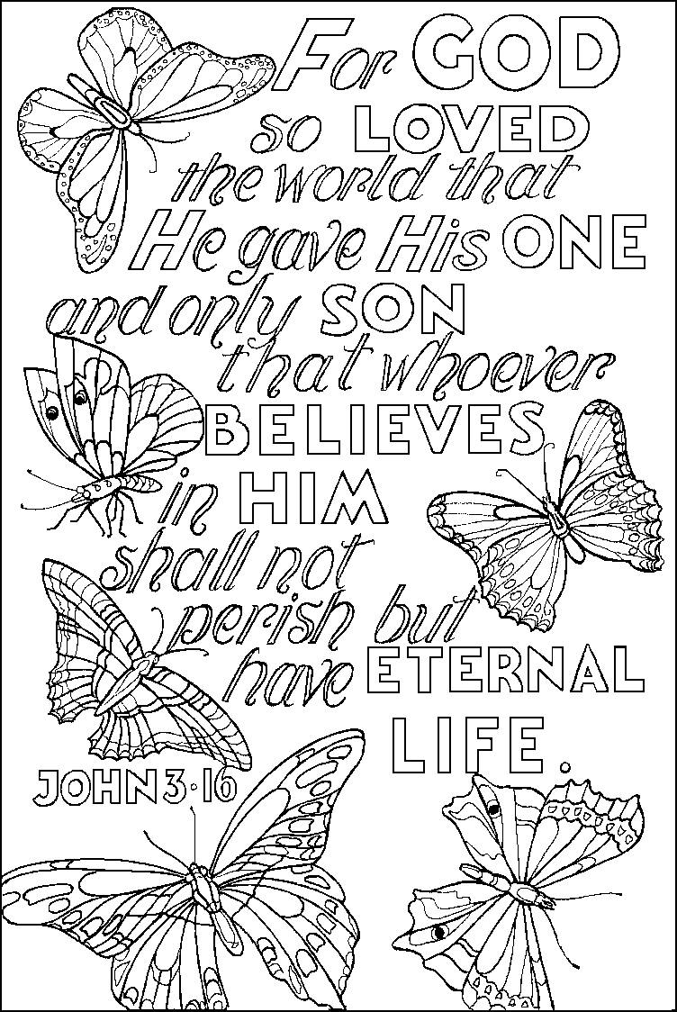 bible verse coloring pages for adults -