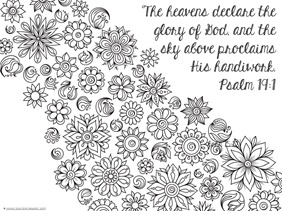 Bible Verse Coloring Pages for Adults - Spring Bible Verse Coloring Pages 1 1 1=1