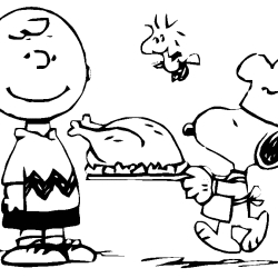 bird coloring pages - snoopy