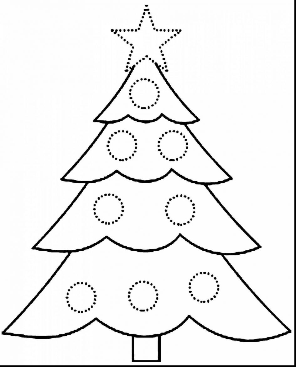 blank coloring pages - blank christmas coloring pages