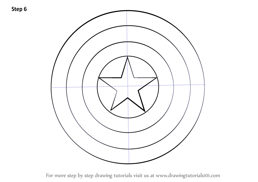 blank pumpkin coloring pages - how to draw captain america shield