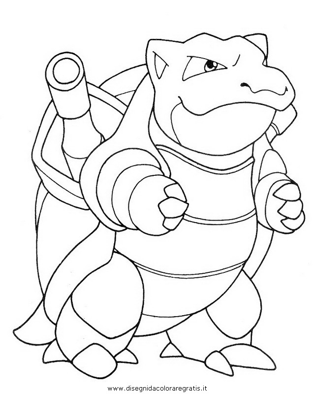 20 Blastoise Coloring Page Images