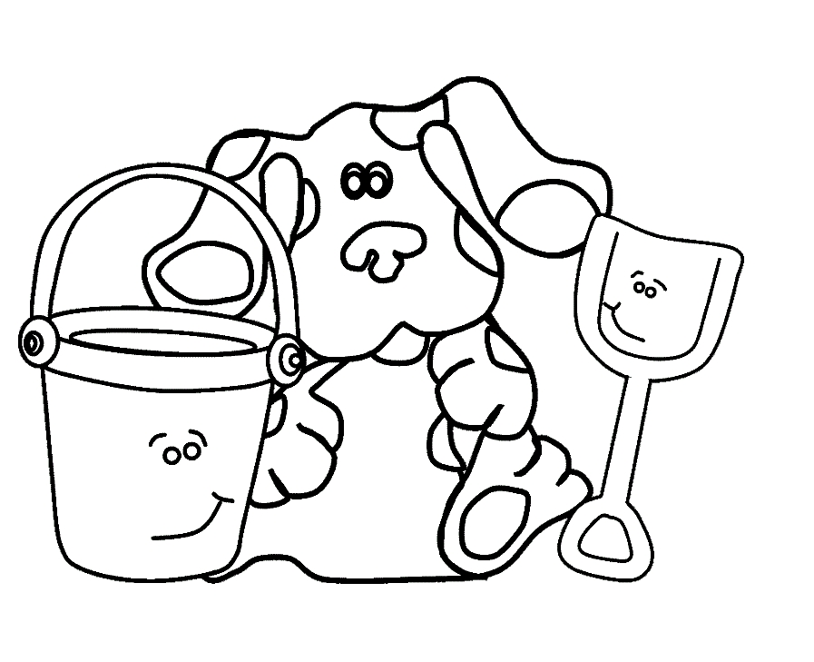 blues clues coloring pages - blues clues coloring pages