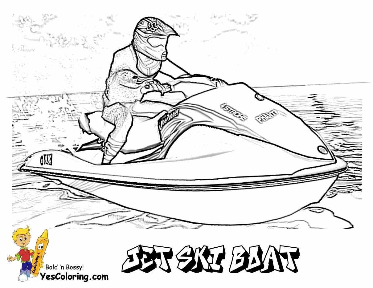 boat coloring pages - boat printables