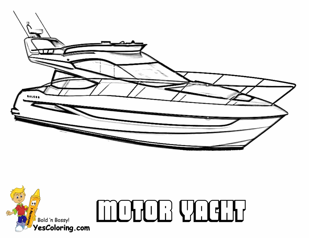 boat coloring pages - ship coloring pages
