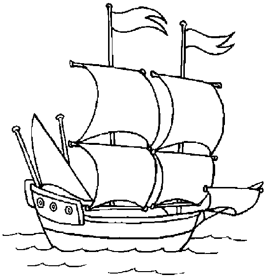 boat coloring pages - q=boat