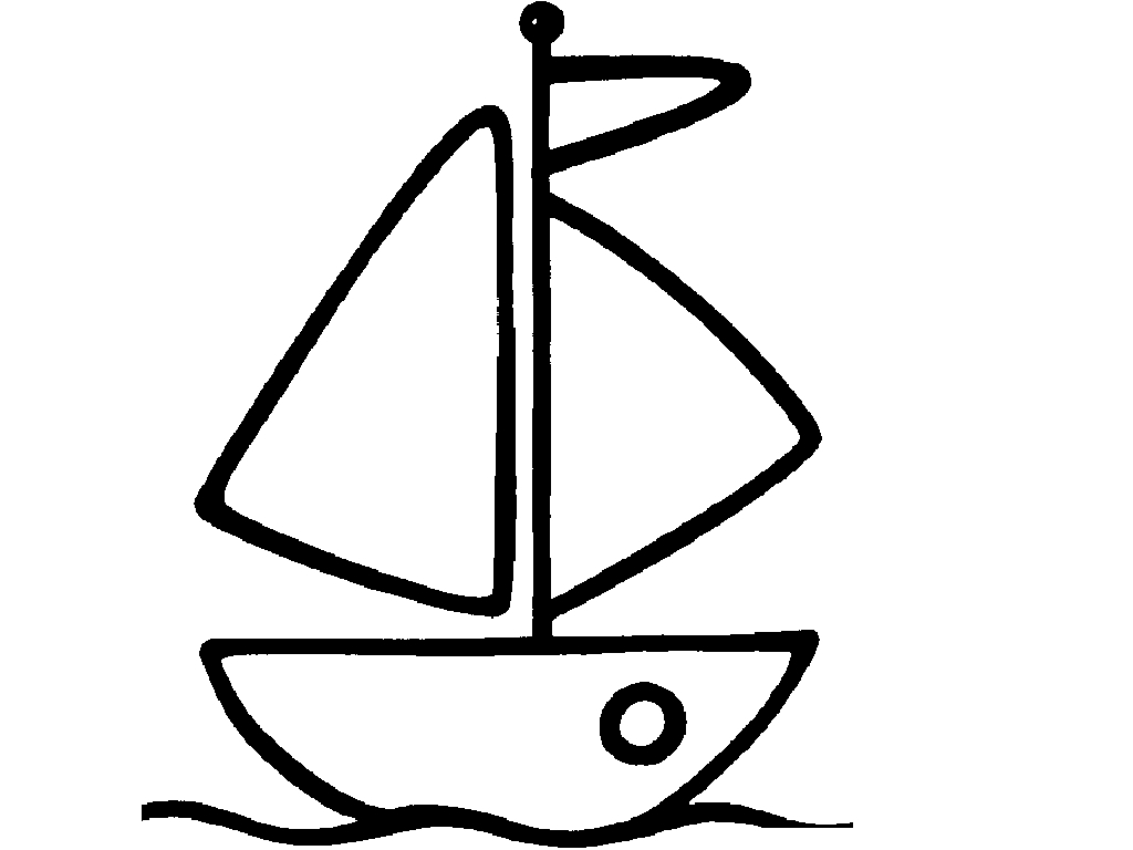 20 boat coloring pages printable - Boat Coloring Page 2