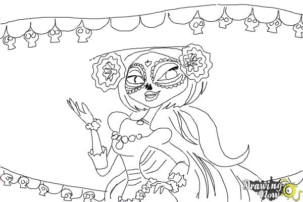 Book Of Life Coloring Pages