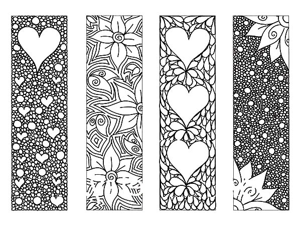 bookmark coloring pages - q=bookmarks to colour in