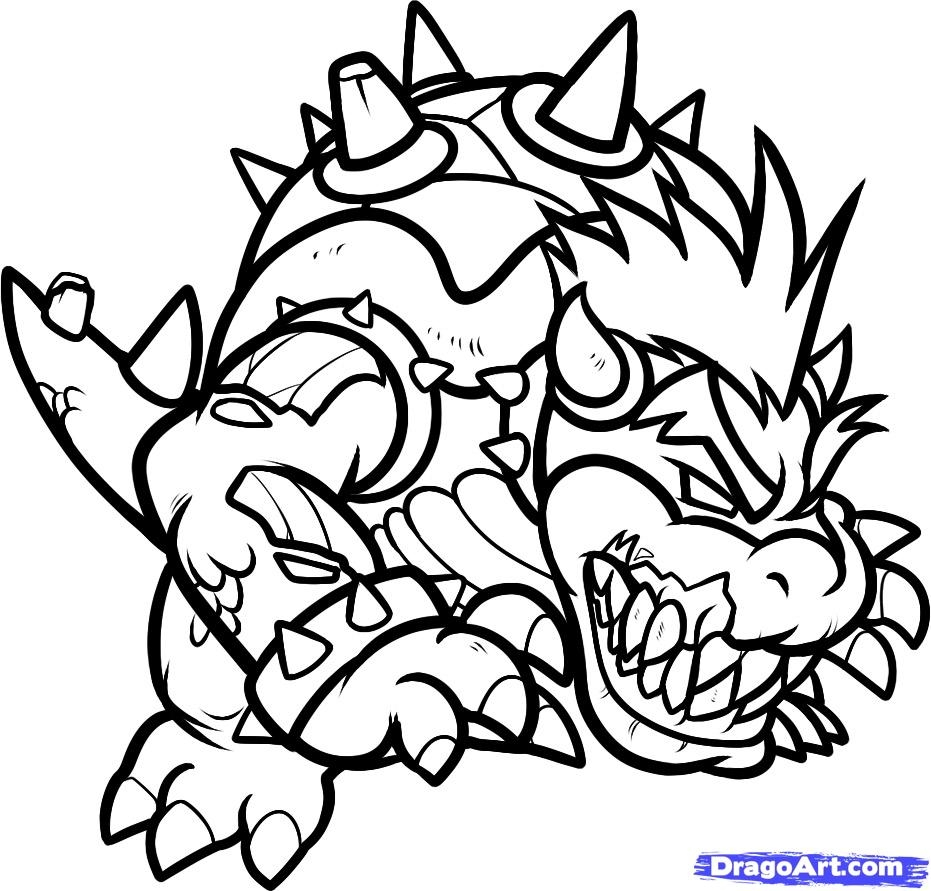21 Bowser Coloring Page Collections   FREE COLORING PAGES ...