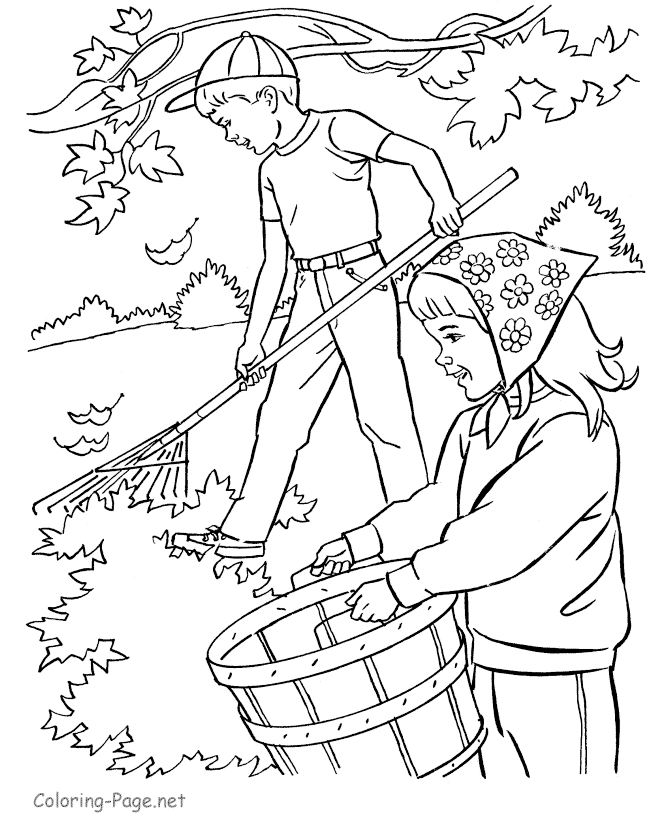 boy and girl coloring pages - games for kids