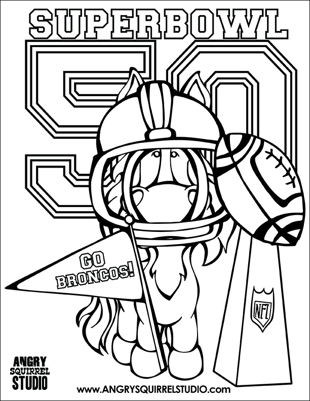 broncos coloring pages - denver broncos coloring pages