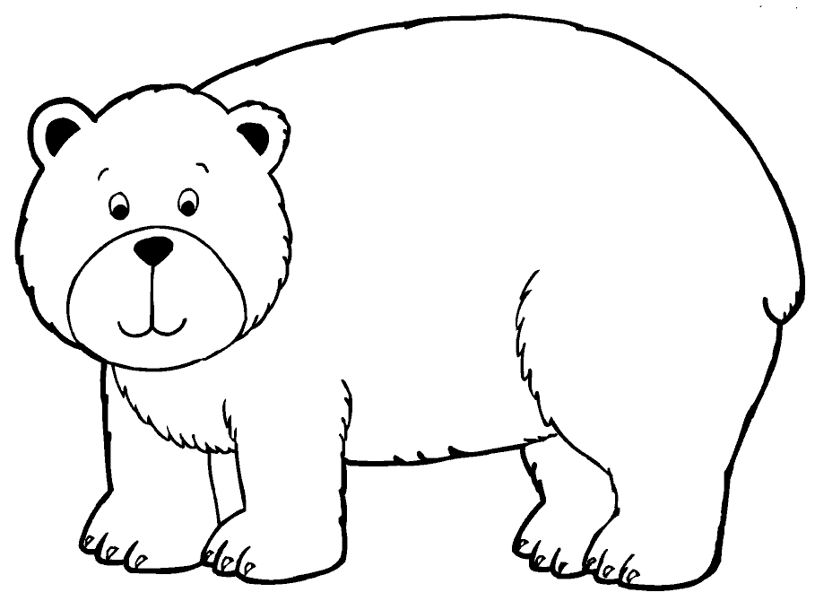 Brown Bear Coloring Pages - Brown Bear Brown Bear What Do You See Coloring Pages Az