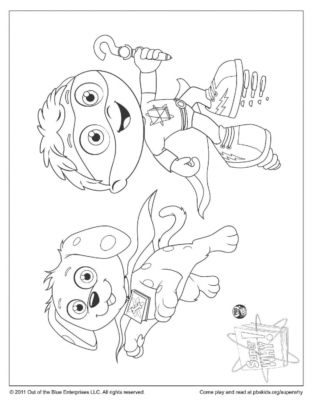Bubble Guppies Coloring Pages - Woofster Super why Coloring Pages Coloring Pages