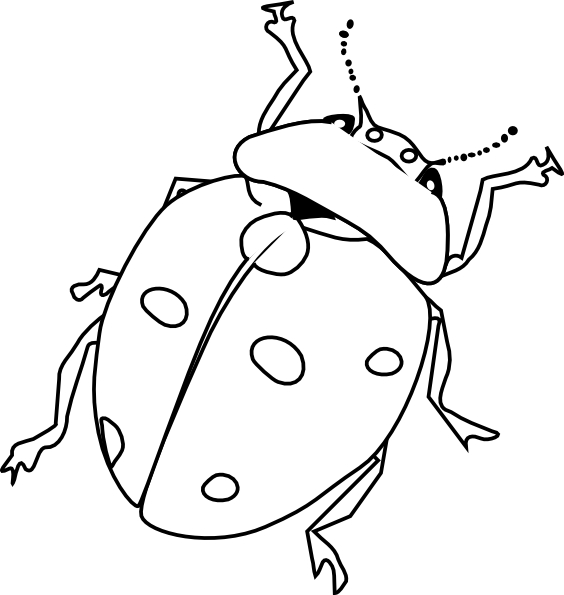 bug coloring pages - insect coloring pages 2