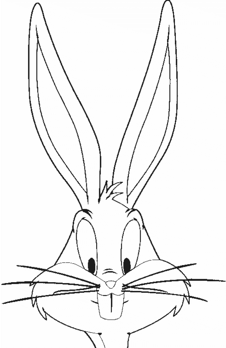 bugs bunny coloring pages - bugs bunny