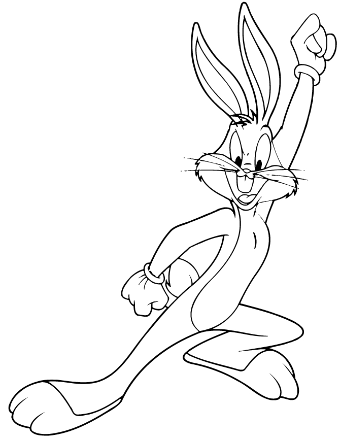 bugs bunny coloring pages - bugs bunny coloring pages