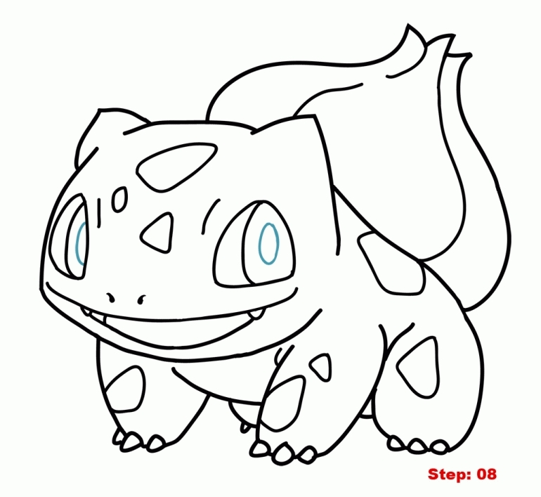 bulbasaur coloring page - bulbasaur coloring page