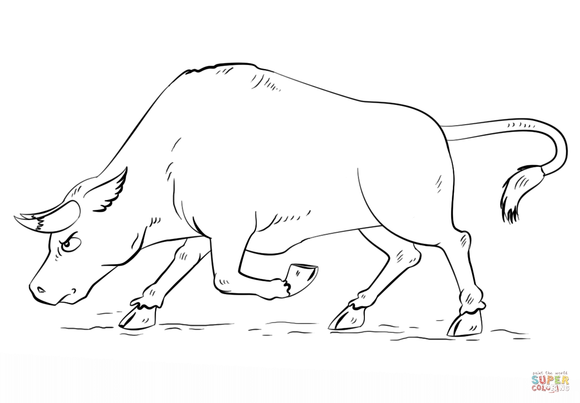 bull coloring pages - asteroid bull coloring pages sketch templates