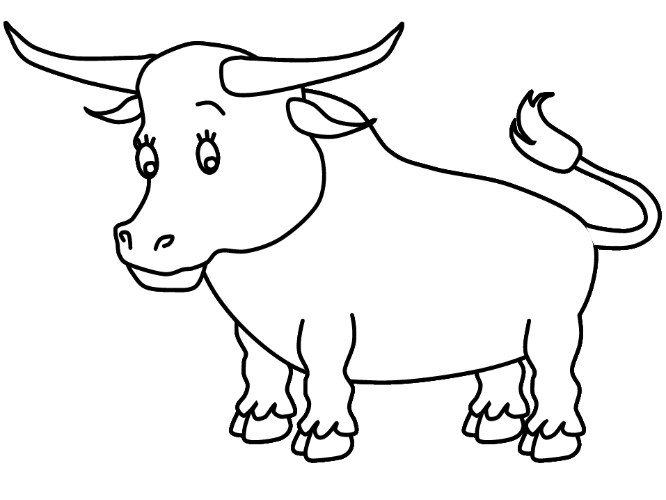 bull coloring pages - ferdinand the bull coloring pages