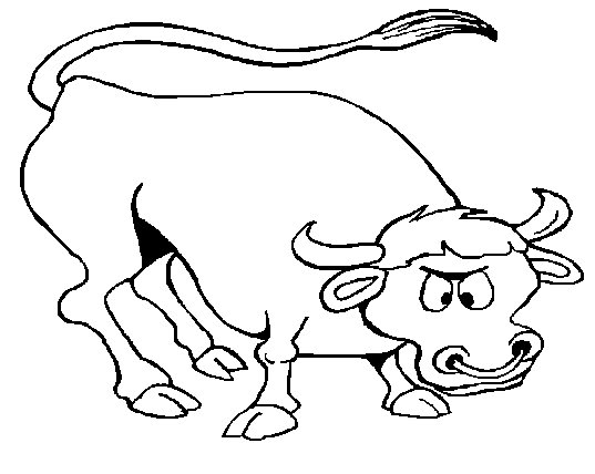 bull coloring pages - free bull coloring sheet printable for