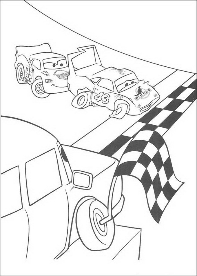 bulldog coloring pages - disegni cars 1 2 stampare colorare