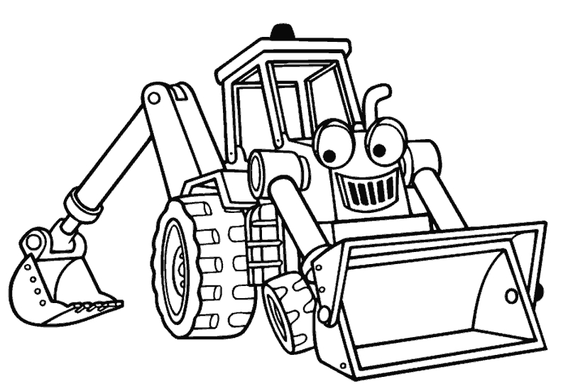 bulldozer coloring pages - Construccion&pg=2