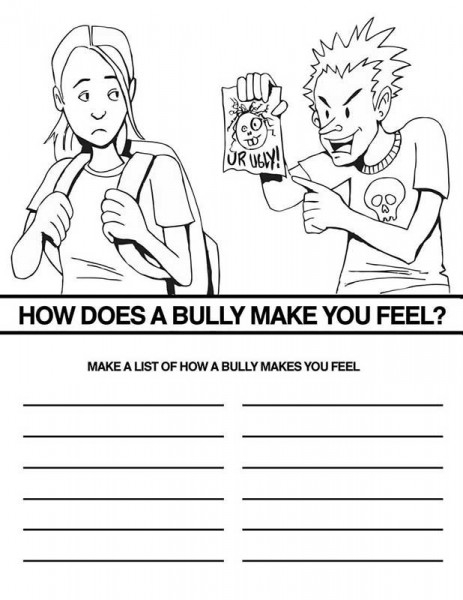 21 Bullying Coloring Pages Collections FREE COLORING PAGES Part 3