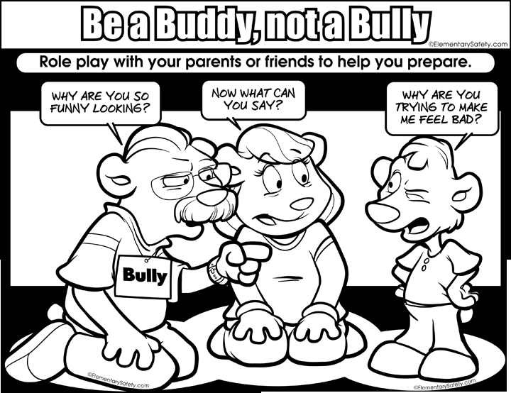 21 Bullying Coloring Pages Collections | FREE COLORING PAGES - Part 3
