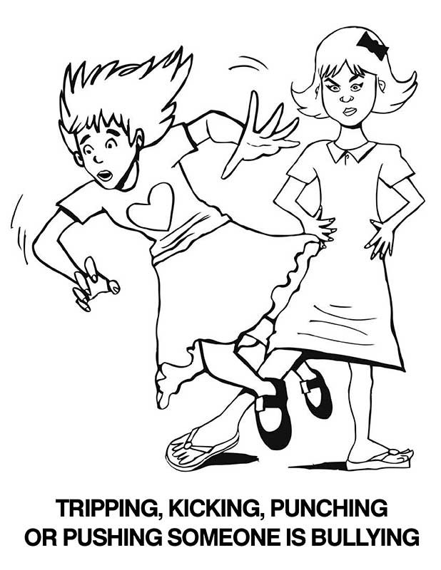 bullying coloring pages - superhero coloring pages printable no bullying sketch templates