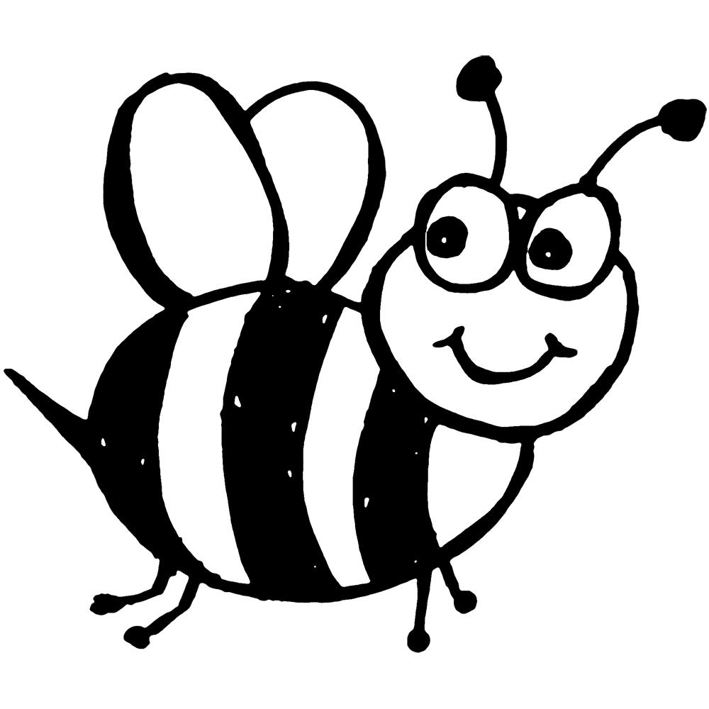 bumble bee coloring page - bumble bee coloring pages