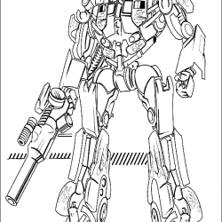 bumblebee transformer coloring page - transformers
