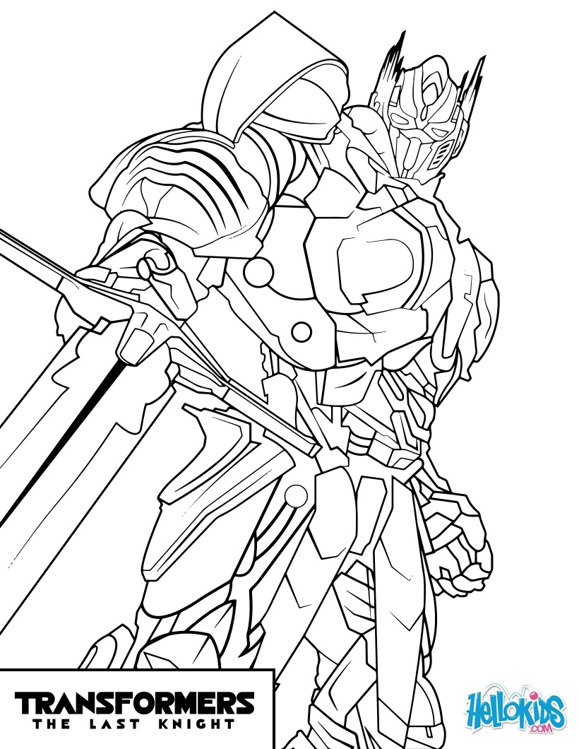 bumblebee transformer coloring page - transformers optimus prime
