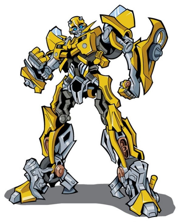 bumblebee transformer coloring page - free clipart transformers clip art