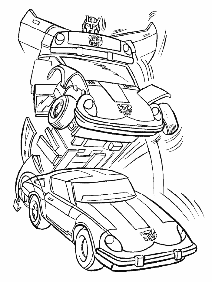 bumblebee transformer coloring page - transformers coloring pages printable