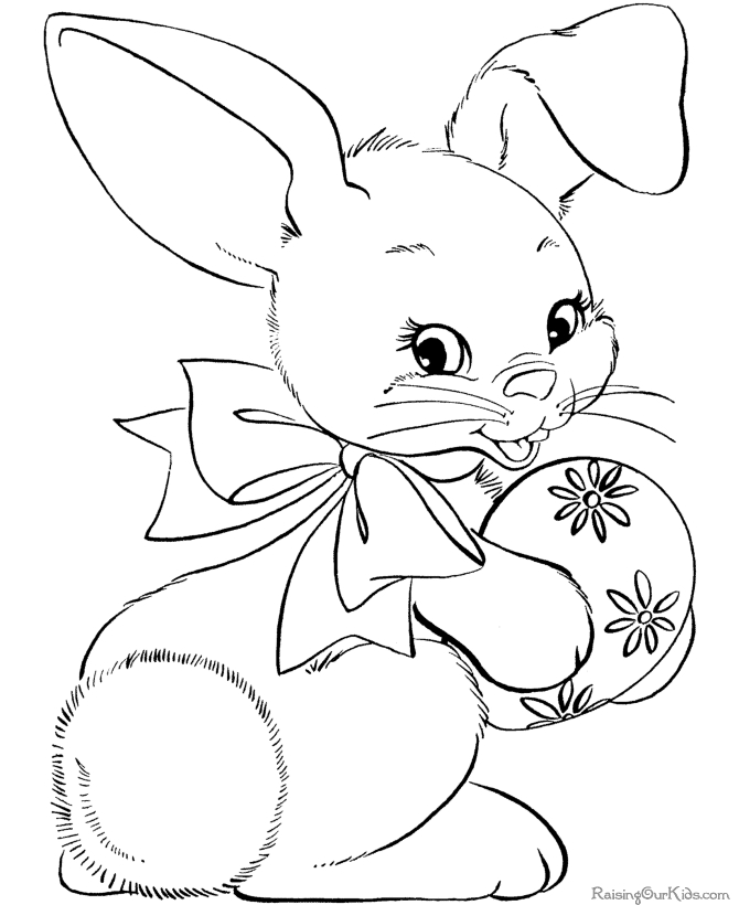 bunny coloring pages - bunny coloring pages